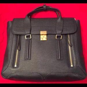 3.1 Philip Lim large Pashli Bag, Ink, MSRP $975